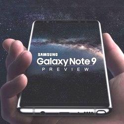 Samsung Galaxy Note 9: nouveau concept en vidéo