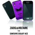 Samsung lance le Galaxy Ace signé Zadig & Voltaire