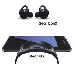 Samsung dévoile le bracelet Gear Fit2 et les écouteurs sans fil Gear IconX