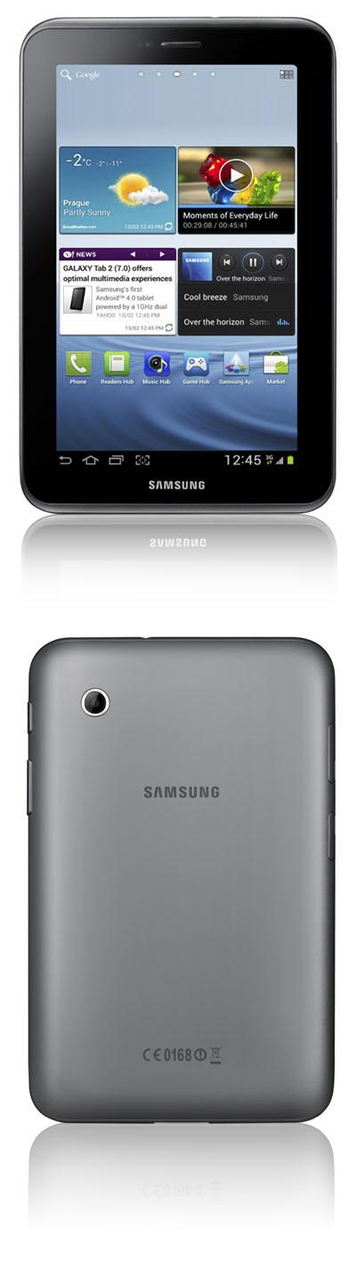 samsung lance une nouvelle tablette de 7 pouces la galaxy tab 2. Black Bedroom Furniture Sets. Home Design Ideas