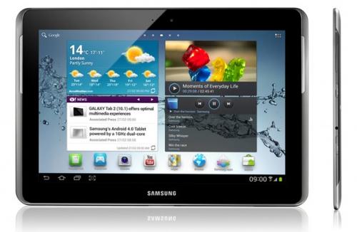 Samsung officialise la Galaxy Tab 2