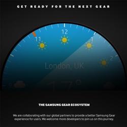 Samsung pr�pare une Gear avec un �cran circulaire