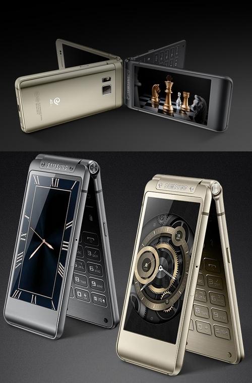 samsung w2016 le premier smartphone clapet haut de gamme. Black Bedroom Furniture Sets. Home Design Ideas