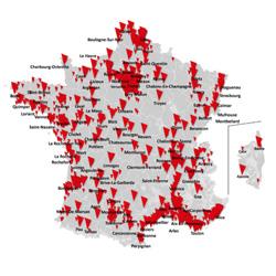 SFR : 71 communes supplémentaires ouvertes en 4G et 39 en 4G+