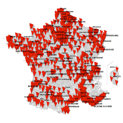 SFR ouvre 958 communes en 4G et 800 en 4G+