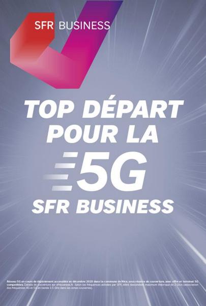 """SFR Business lance une gamme de """" Forfaits sécurisés 5G """" pour les entreprises"""
