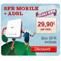 SFR enrichit son offre « Box ADSL + Clé Internet 3G+ »