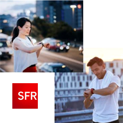 """SFR lance l'option """" Montre Connectée """""""