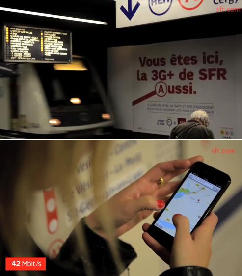 SFR lance la 3G+ dans les gares RER A de Châtelet-Les Halles et de Gare de Lyon