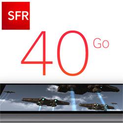 SFR lance un forfait avec 40 Go de data
