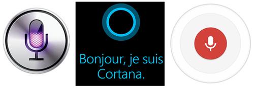 Siri serait le meilleur assistant virtuel face à Google Now et Cortana