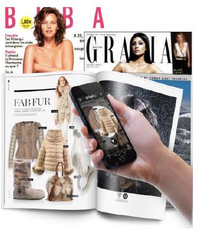 Smartsy, une application de reconnaissance des objets dans les magazines