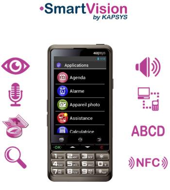SmartVision Lite :  un nouveau smartphone dédié aux personnes malvoyantes et non-voyantes