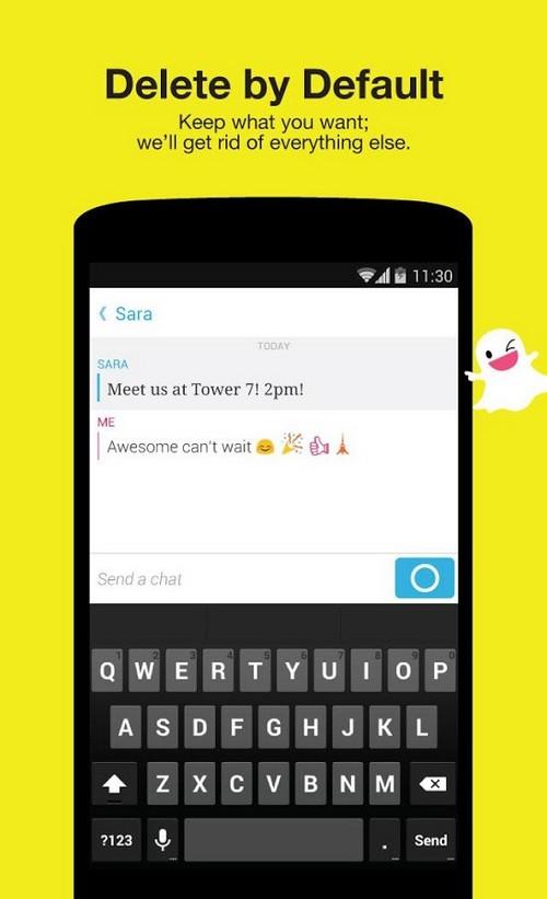 Snapchat surveillé de près par la FTC