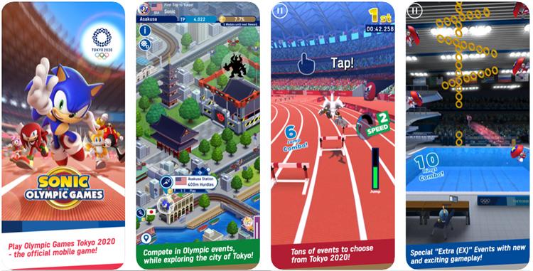 Sonic est prêt pour les jeux Olympiques de Tokyo 2020 malgré le report