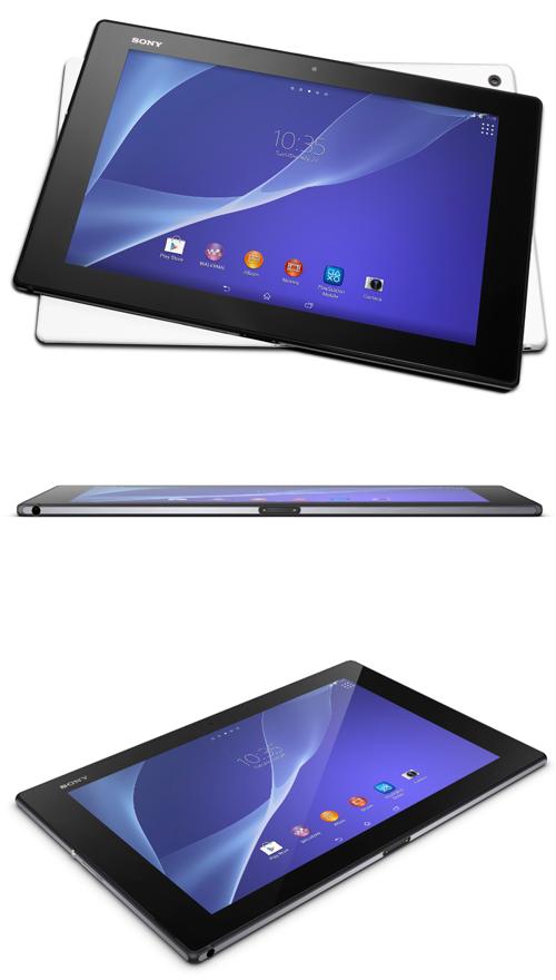 Sony lance sa tablette étanche Xperia Z2