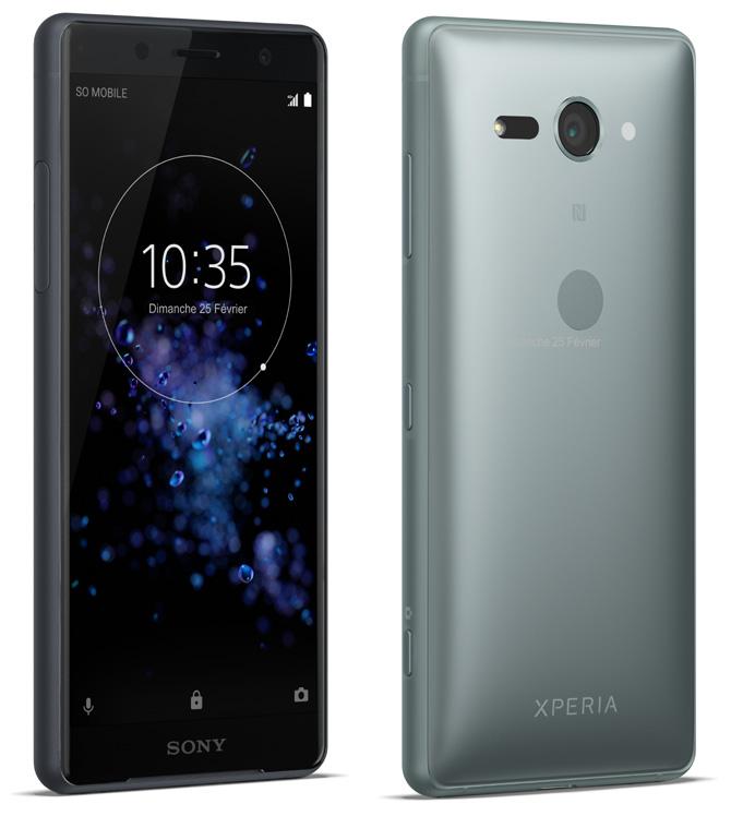 Sony Mobile annonce l'Xperia XZ2 et son modèle Compact
