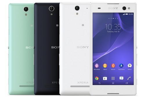 Sony Xperia C3 : un smartphone dédié  aux selfies