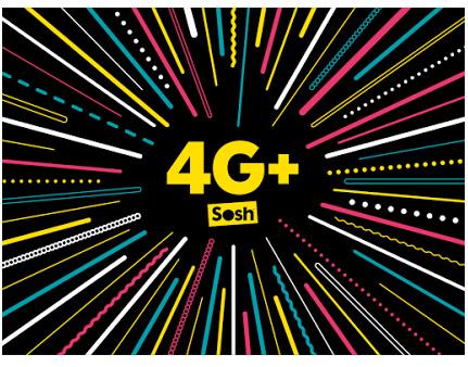 Sosh intègre la 4G+ à ses forfaits