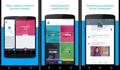 Google lance Spaces, un nouveau service de messagerie