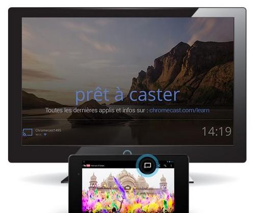 Succès de Chromecast chez SFR avec 65000 appareils vendus