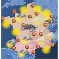 Succès de la météo sur mobile