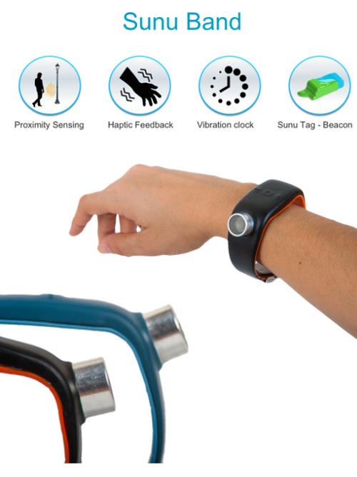Sunu, un bracelet connecté qui aide les personnes malvoyantes