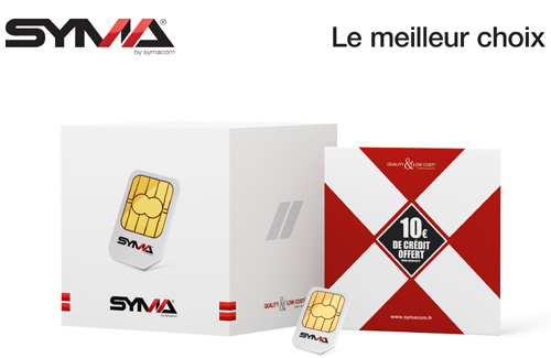 Syma lance sa carte pr�pay�e avec une validit� illimit�e