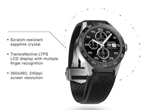 TAG Heuer Connected : la réponse de l'horloger à l'Apple Watch ?