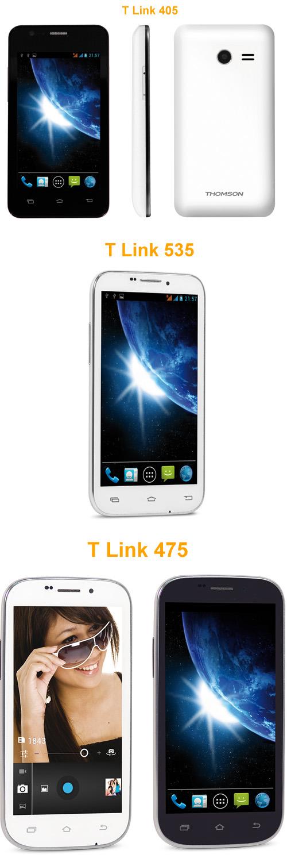 Thomson présente sa nouvelle gamme de téléphones mobiles T Link