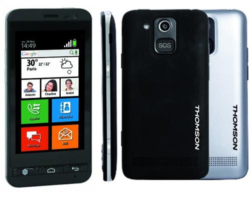 Thomson Serea 405, un smartphone pour les seniors en promotion