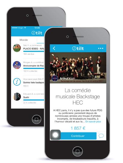 Tilt, l'application qui permet à chacun de donner vie à  ses projets