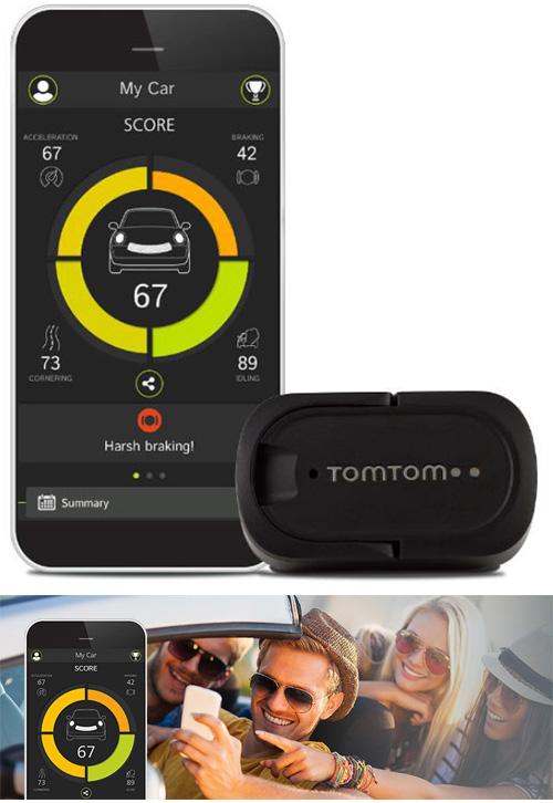 TomTom Curfer analyse votre conduite grâce à votre smartphone