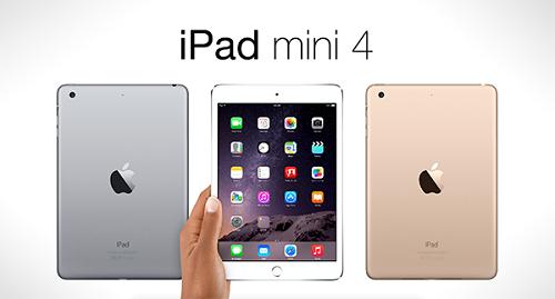 L'Ipad Mini 4 arrive très prochainement