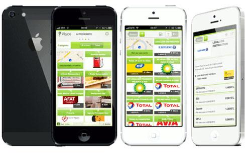 Trouvez l'essence la moins chère depuis un iPhone