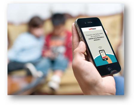 Trouvez une Baby-sitter de confiance en quelques minutes depuis un iPhone