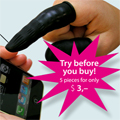 Un doigt pour prot�ger votre iPhone