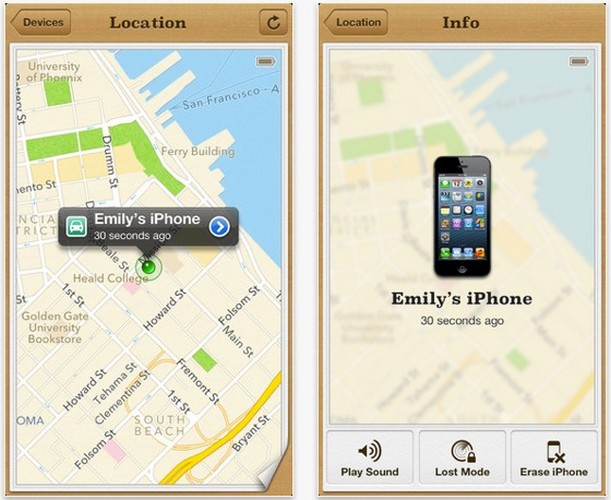 L'application « Find my iPhone » permet l'arrestation d'un voleur