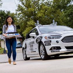 Et si vos pizzas étaient livrées par une voiture autonome ?