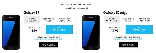 Louer des smartphones Samsung avec Up2You