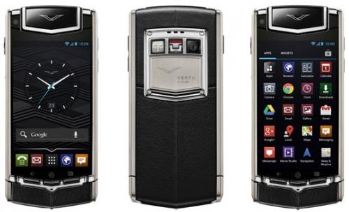 Vertu dévoile un nouveau smartphone hors de prix