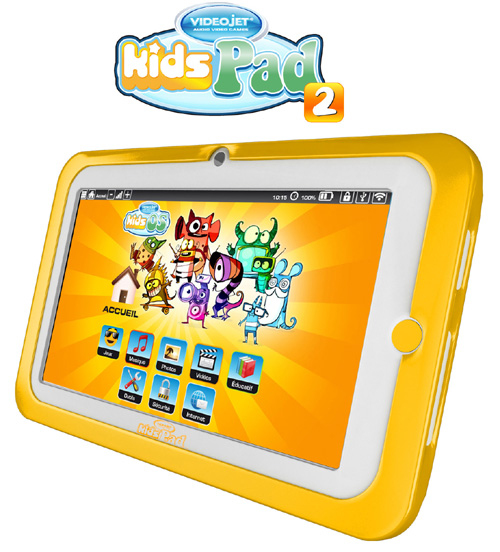Videojet KidsPad 2 : une tablette tactile dédiée aux enfants