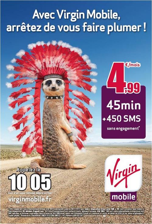 Virgin Mobile lance sa campagne de publicité « Arrêtez de vous faire plumer ! »