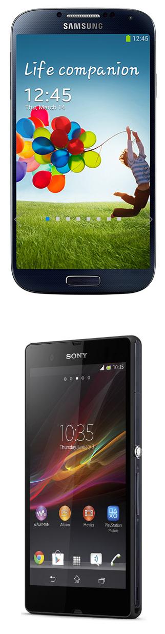 Virgin Mobile : le Samsung Galaxy S4 et le Sony Xperia Z à 1 € pendant une semaine
