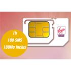 Virgin Mobile offre une carte SIM avec 1h d'appel, 100 SMS et 100 Mo !