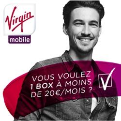 L'offre de Virgin Box