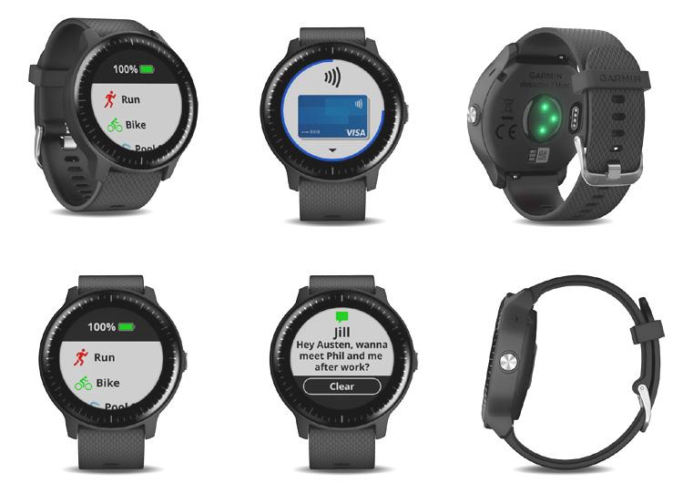 Vivovoactive 3 Music, une montre qui combine sports, musique et paiement sans contact au poignet