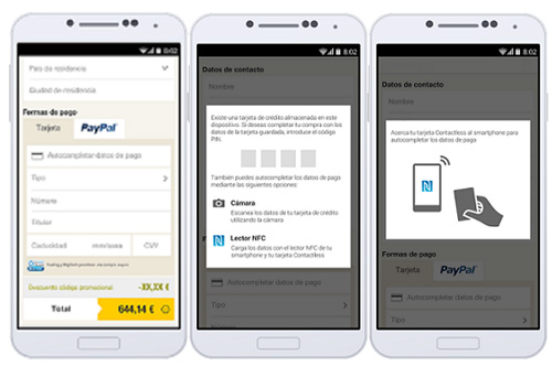 Vueling propose le paiement sans contact via son application mobile