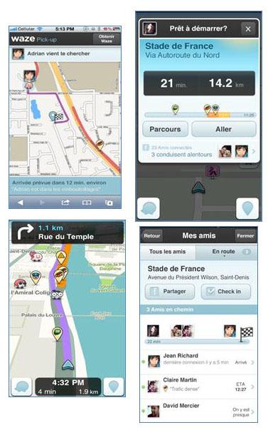 Waze présente la version 3.5 de son GPS social communautaire