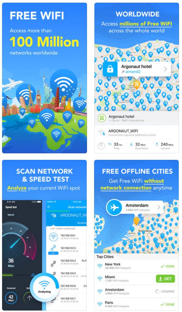 WiFi Map, une application pour profiter d'une connexion gratuite partout dans le monde